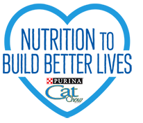 Purina Cat Chow 'Nutrition to Build Better Lives'